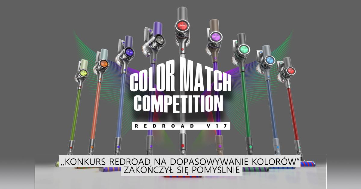 """,,Konkurs Redroad na dopasowywanie kolorów"""" zakończył się pomyślnie"""